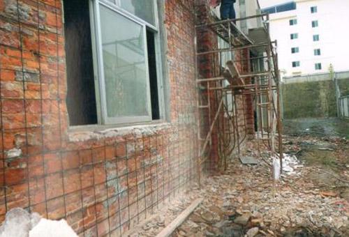 青岛市崂山区民政局老年公寓碳纤维加固项目