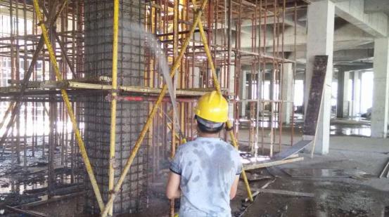 青岛某商业公园结构加固项目
