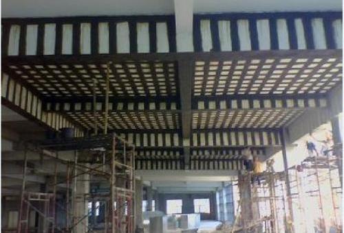 包钢加固混凝土的钢柱承载性分析及其原理是什么样的