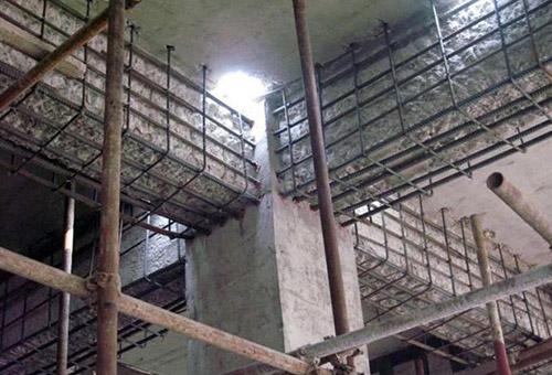 柱头增大截面结构加固常见问题