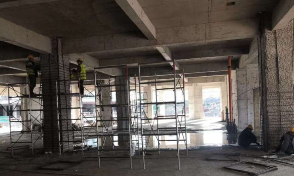 桥梁水下桩基增大截面加固的施工运用