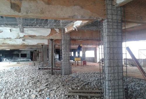 钢筋混凝土采用粘钢加固的基础规定